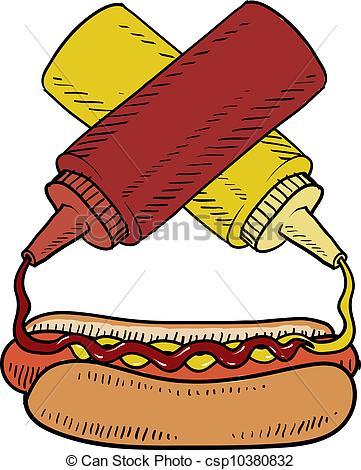ballpark clipart #hotdog_01.