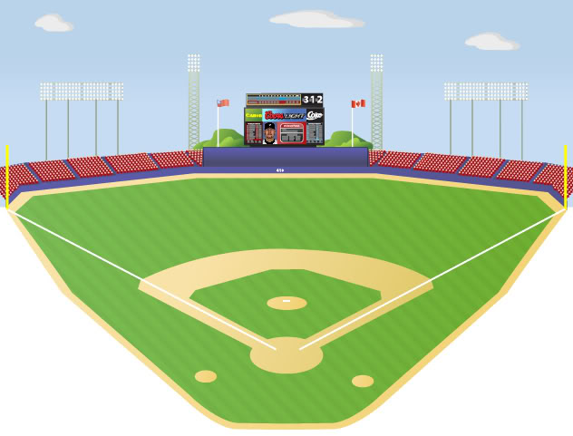 Ballpark clipart.
