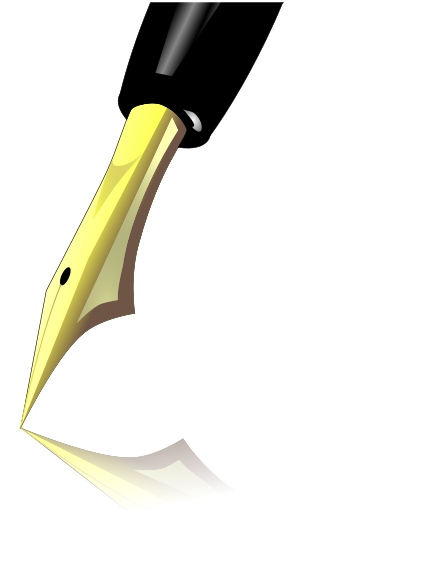 Free Pen and Ink Clipart.