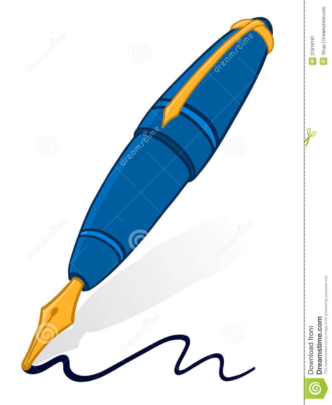 Ink Pen Clipart.