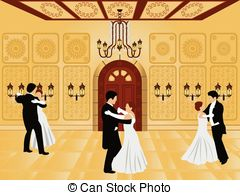 Ballroom clipart.