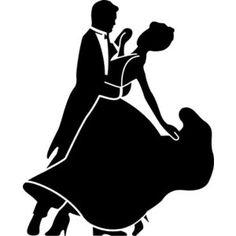 Ballroom dancing clip art.