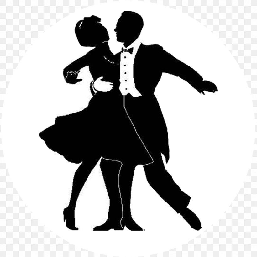 Ballroom Dance Silhouette Tango Clip Art, PNG, 1024x1024px.