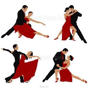 Free Ballroom Dance Clipart.