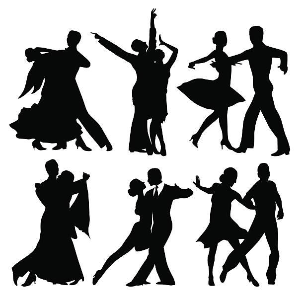 Top Ballroom Dancing Clip Art Vector Graphics And Illustrations.