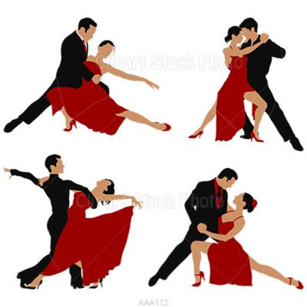 Free Ballroom Dance Clipart Images At Clker Com Vector Clip.