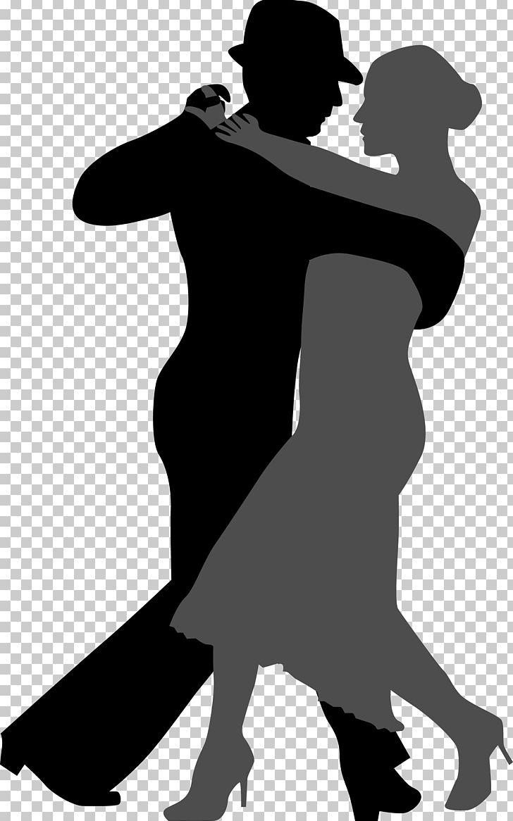 Tango Ballroom Dance Silhouette PNG, Clipart, Ballet Dancer.
