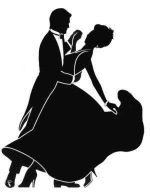 ballroom dancing silhouette r4.