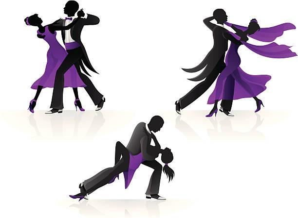 Best Ballroom Dancing Illustrations, Royalty.