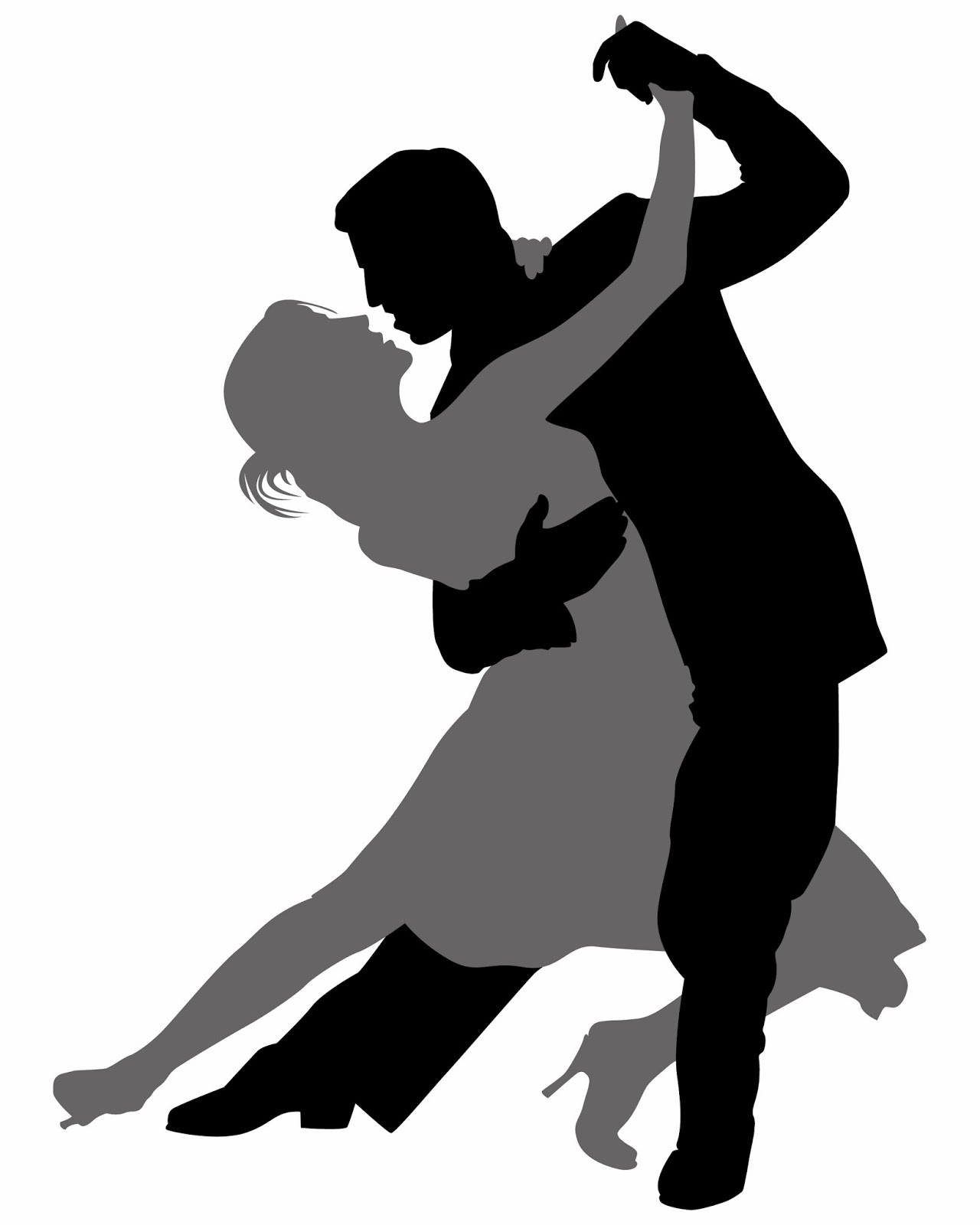 Ballroom Dance Into Spring The Record clipart free image.
