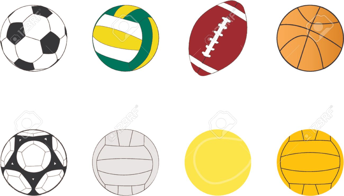 sport balls clipart.