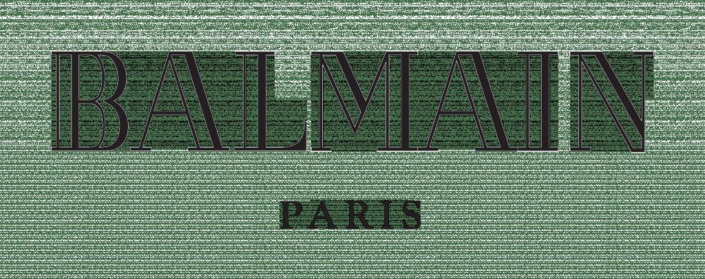 Balmain Logo transparent PNG.