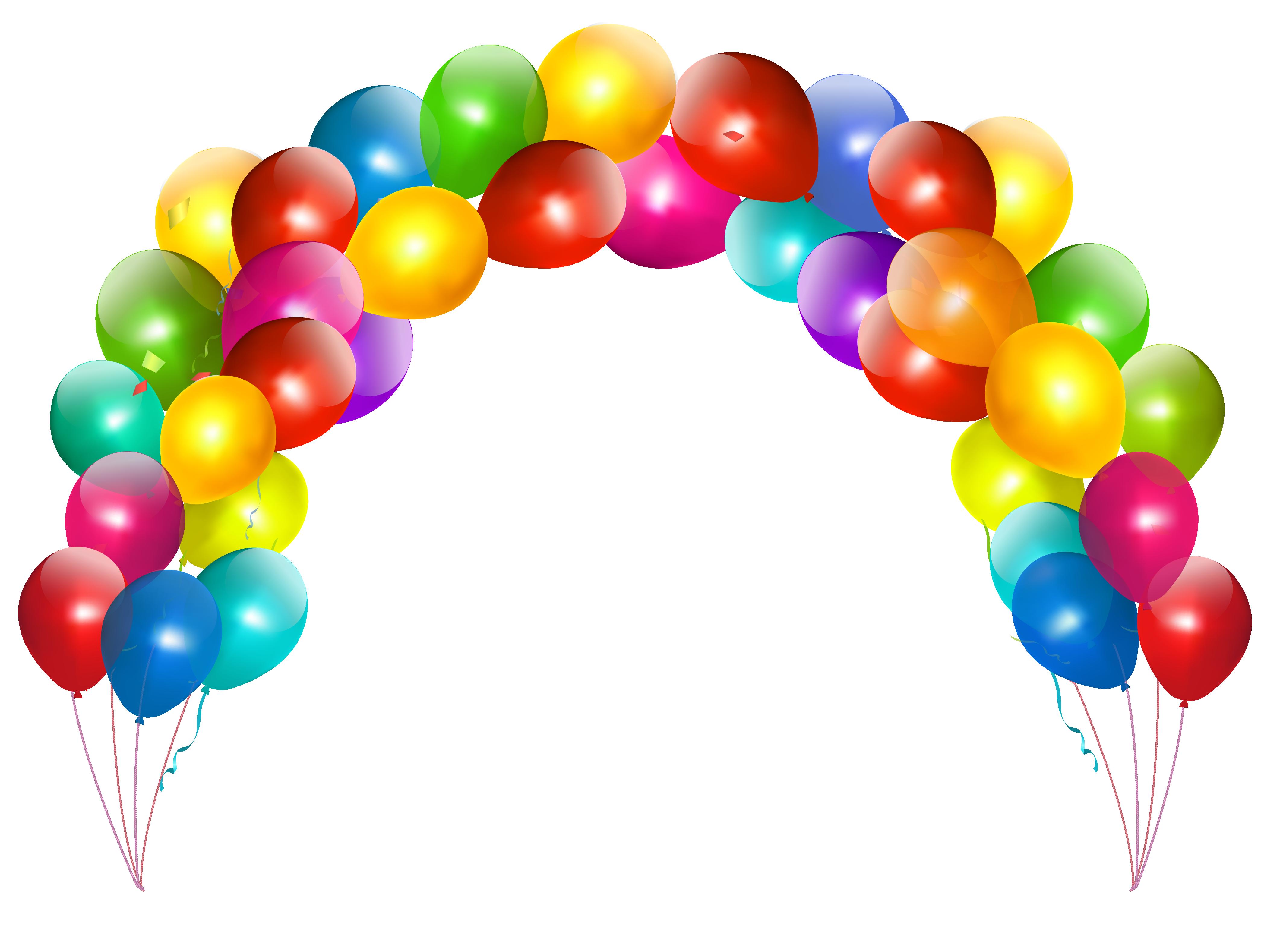 Balloon Arch Clipart.