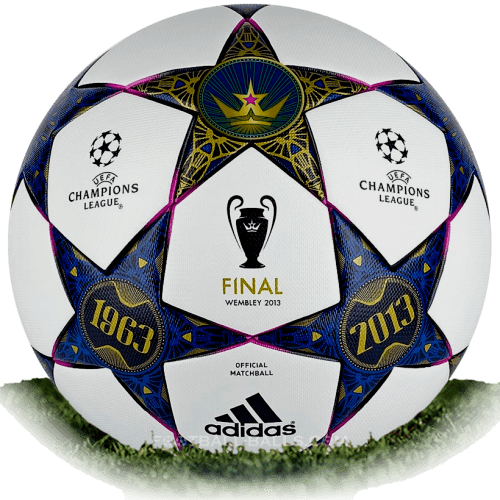 Adidas Finale Wembley is official final match ball of Champions.