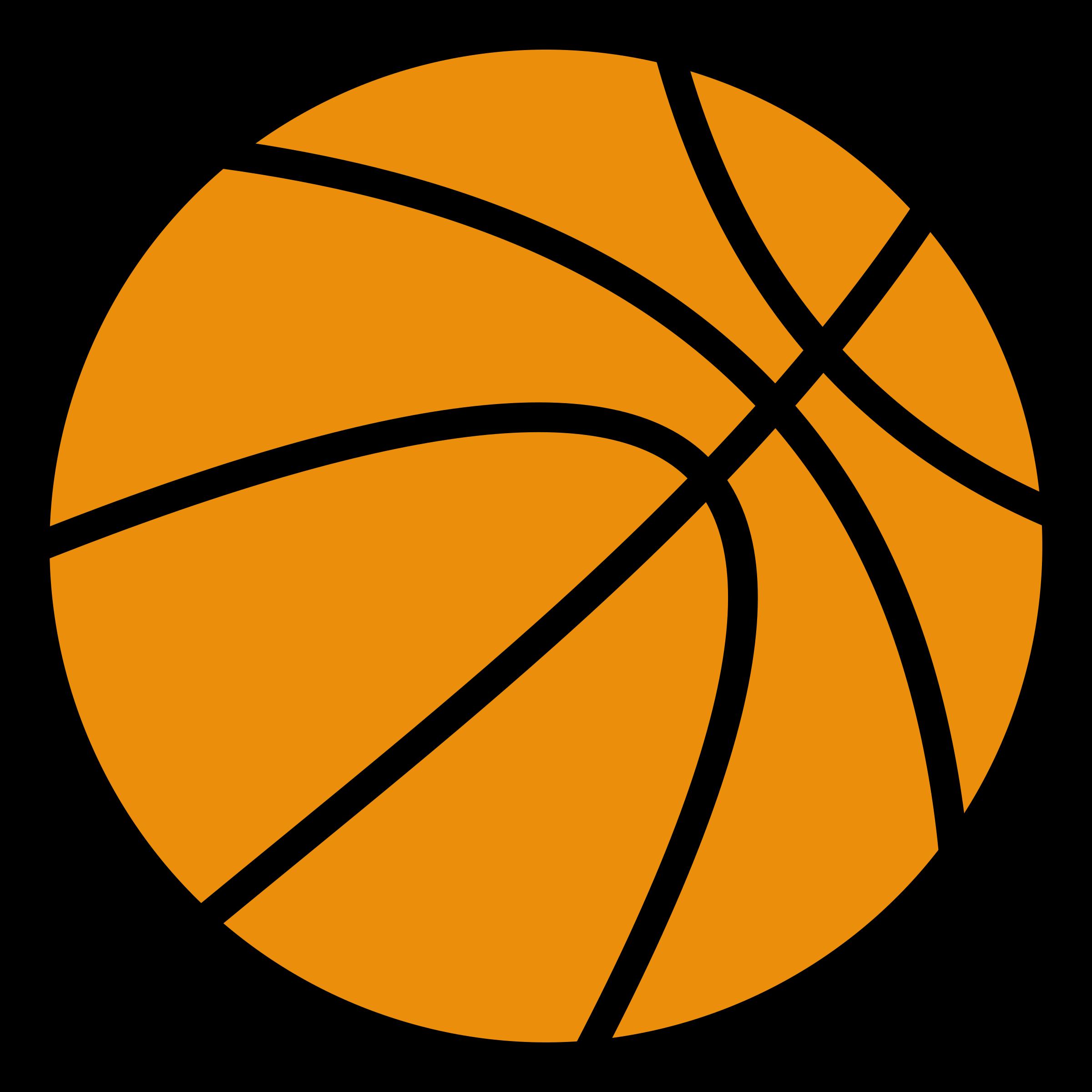 Clip Art Basketball Art Clipartist.