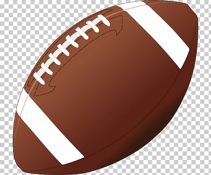 American football PNG clipart.