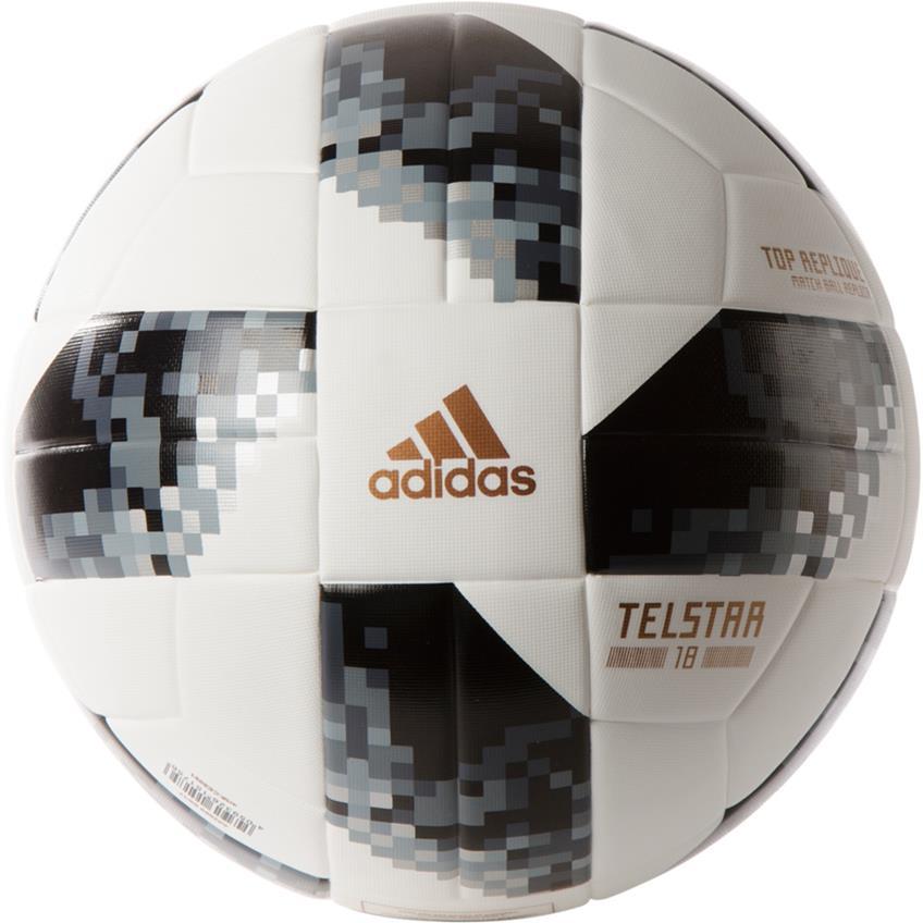 Balón de futbol #4 Adidas TELSTAR Rusia 2018 top glider CE8096.