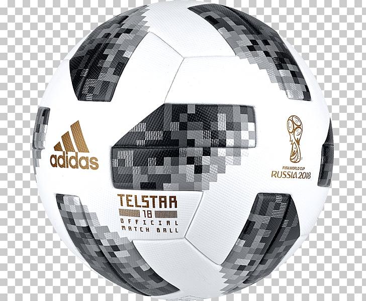 Ilustración del balón de fútbol adidas blanco, negro y gris.