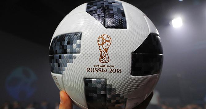 Los balones de la historia de los mundiales de fútbol.