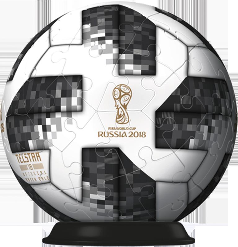 Balón Adidas FIFA Copa Mundial Puzzle Ball Ravensburger: Rusia 2018.