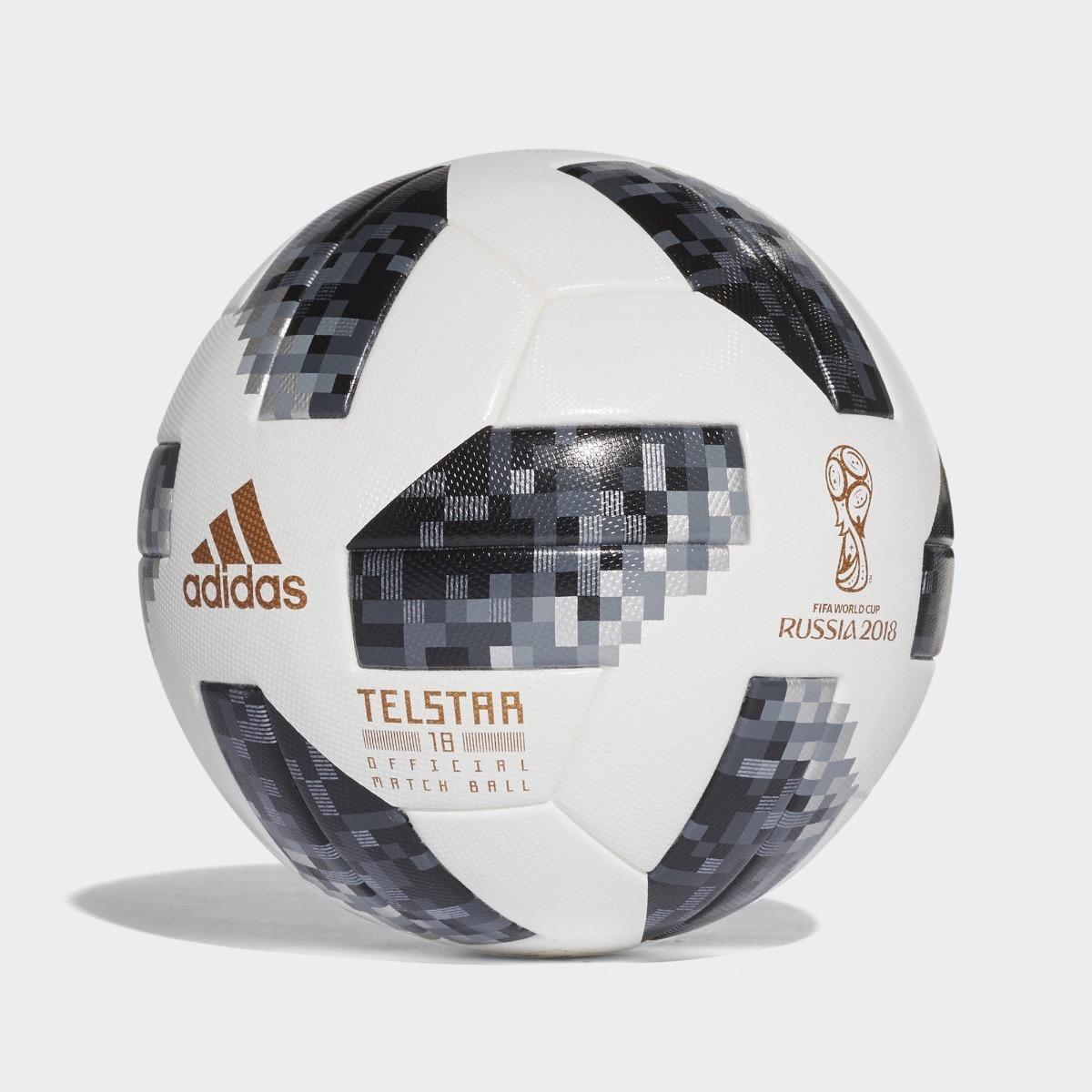 Pelota Oficial De Juego Mundial adidas Telstar Rusia 2018.