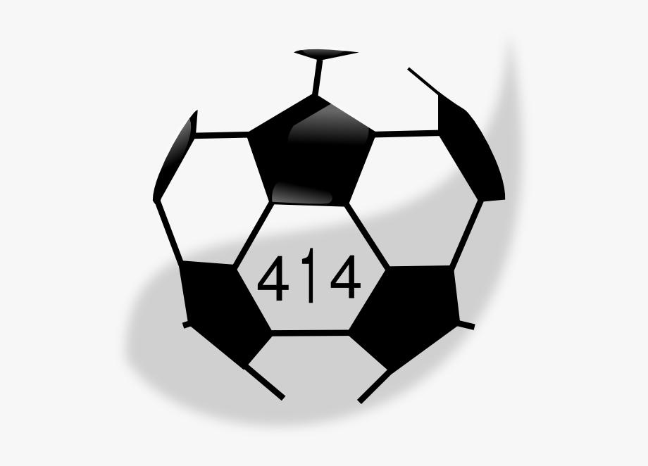 Soccer Ball 414 Clip Art.