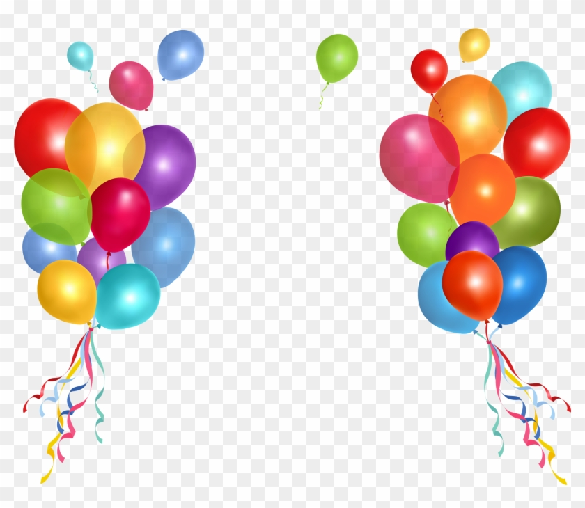 Clip Art Balloons Banner Free.
