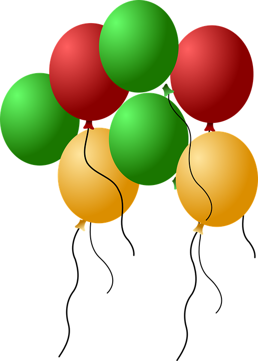 Balon ulang tahun png 2 » PNG Image.