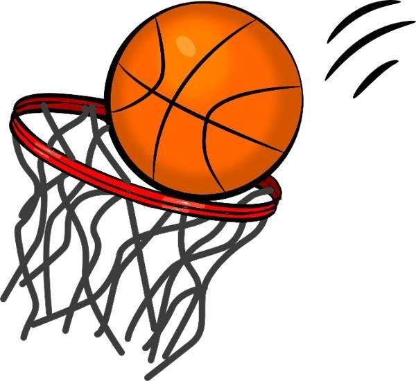 Basketball clip art 4.