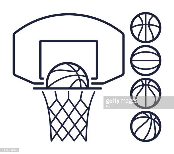 60 Top Basketball Hoop Stock Illustrations, Clip art, Cartoons.