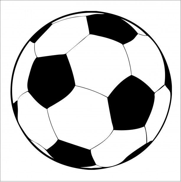 pelota de futbol clipart.