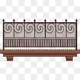 Fence Balcony PNG Images.