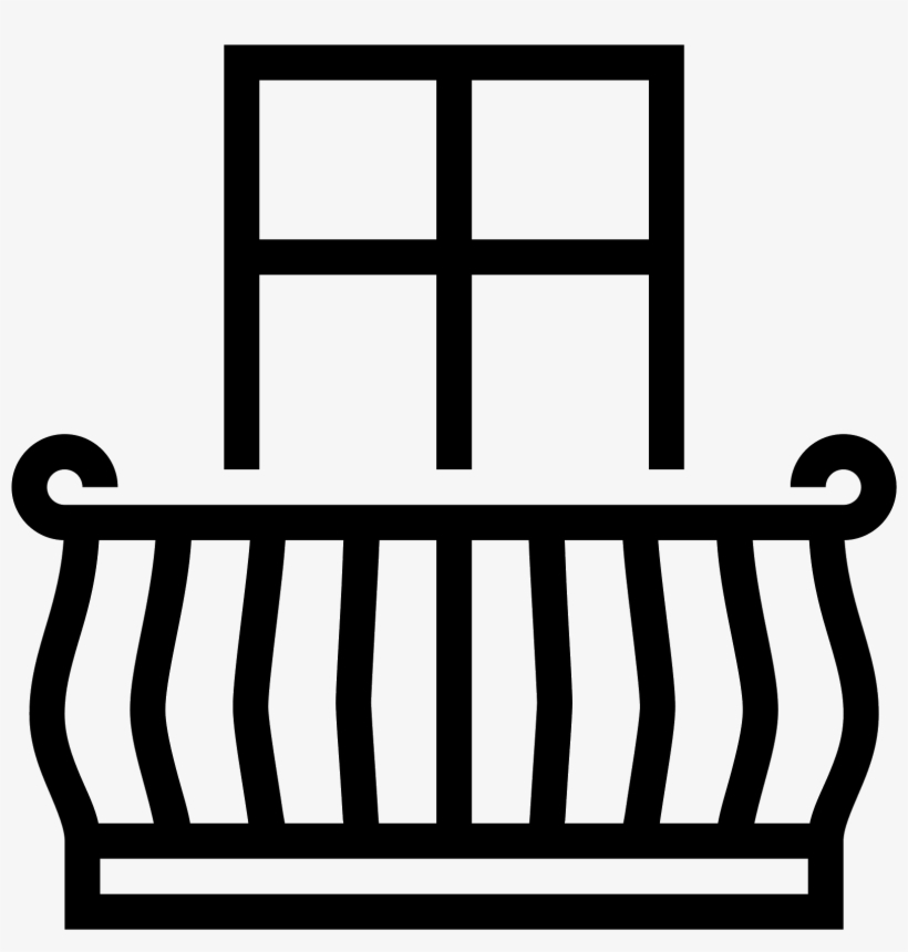 Balcony Icon Png And Vector.