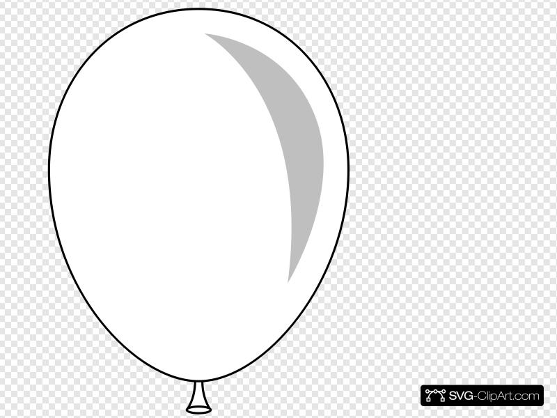 Balloon Clip art, Icon and SVG.