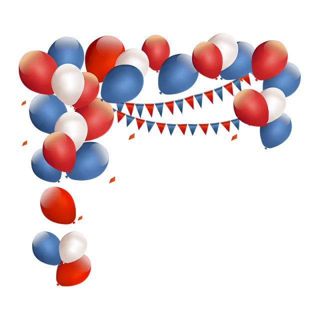 Red And Blue Balloon, Balloon, Red, Balloon PNG and Vector with.