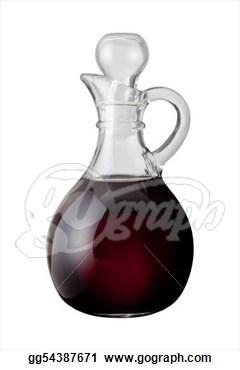 Balsamic Vinegar Clipart.