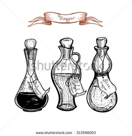 Balsamic Vinegar Stock Photos, Royalty.