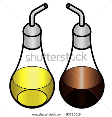 Oil And Vinegar Clipart.