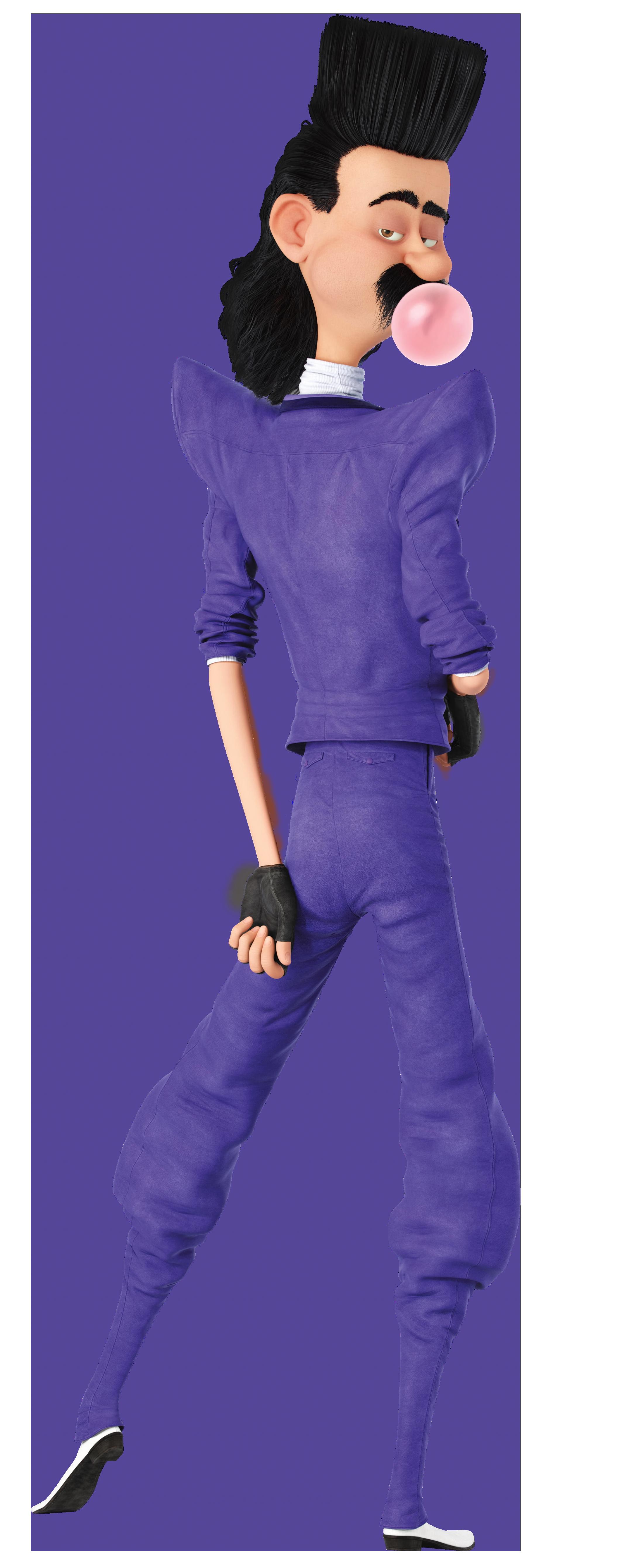 Balthazar Bratt Despicable Me 3 Transparent PNG Clip Art Image.