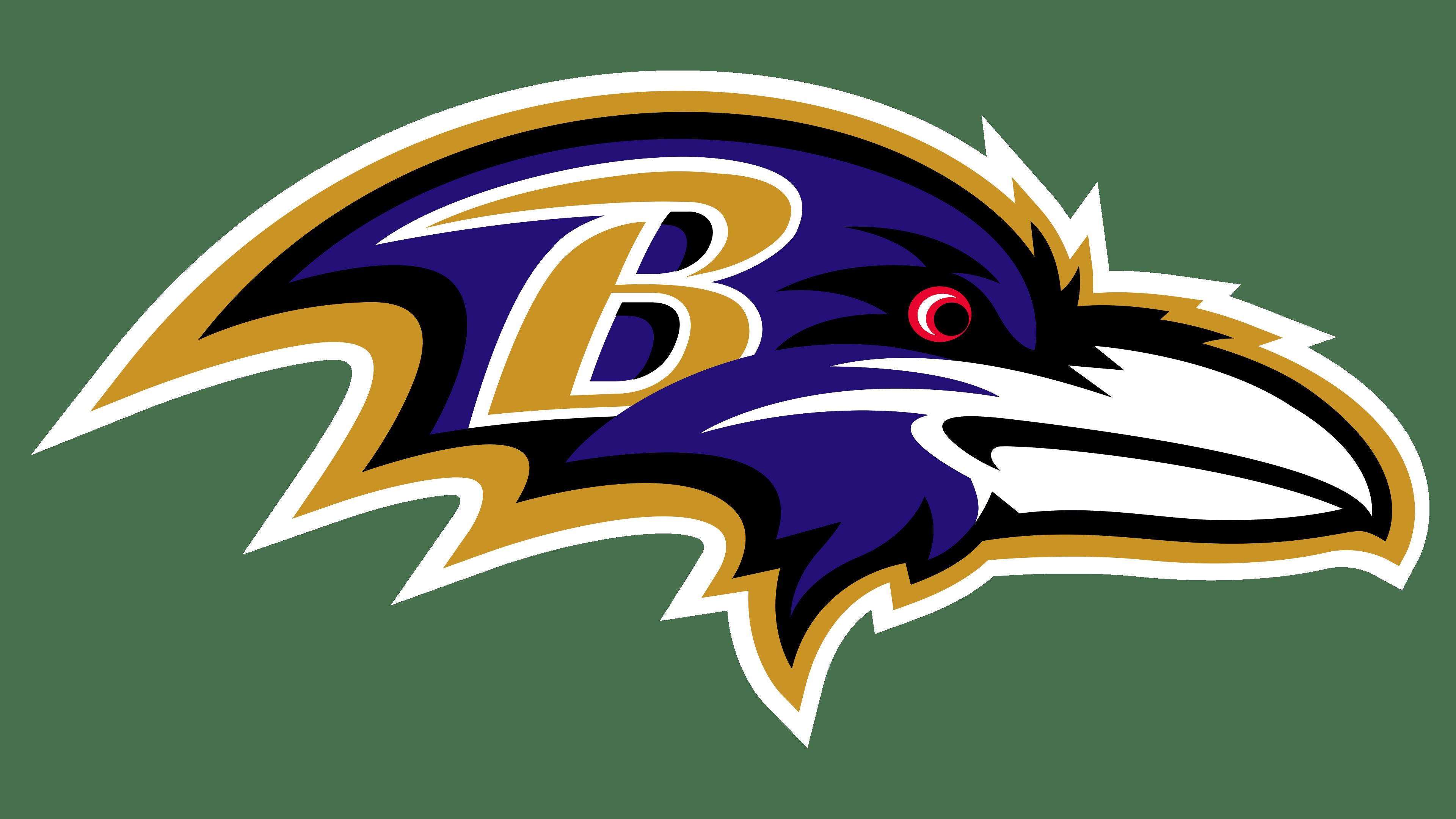 Baltimore Ravens Logos.