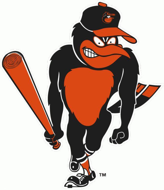 Baltimore Orioles Mascot Clipart.