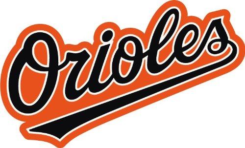 Baltimore Orioles Logo MLB Baseball Car Bumper.