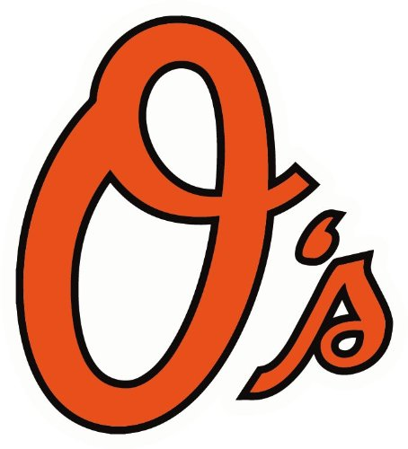 Baltimore Orioles Logo MLB Baseball Car Bumper Sticker Decal.