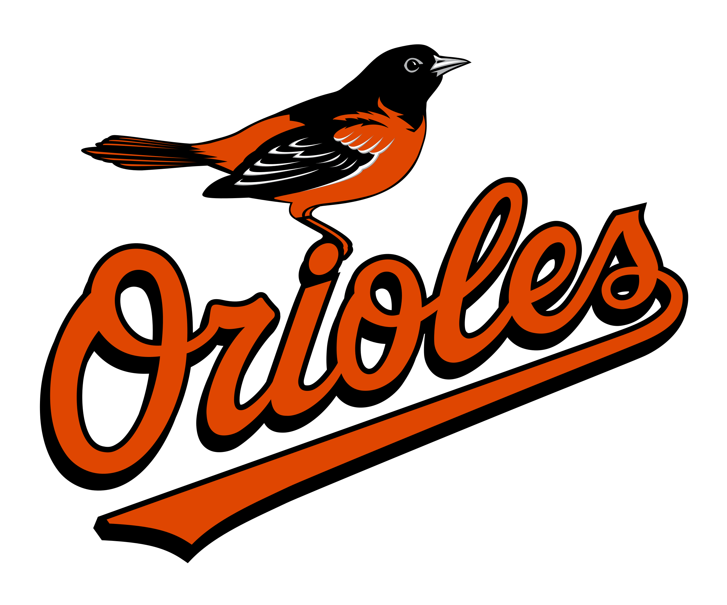Baltimore Orioles Logo PNG Transparent & SVG Vector.
