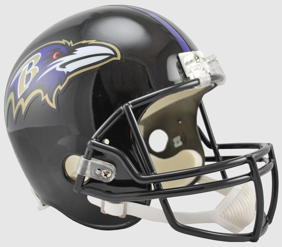 Baltimore Ravens Full Size Replica Football Helmet.