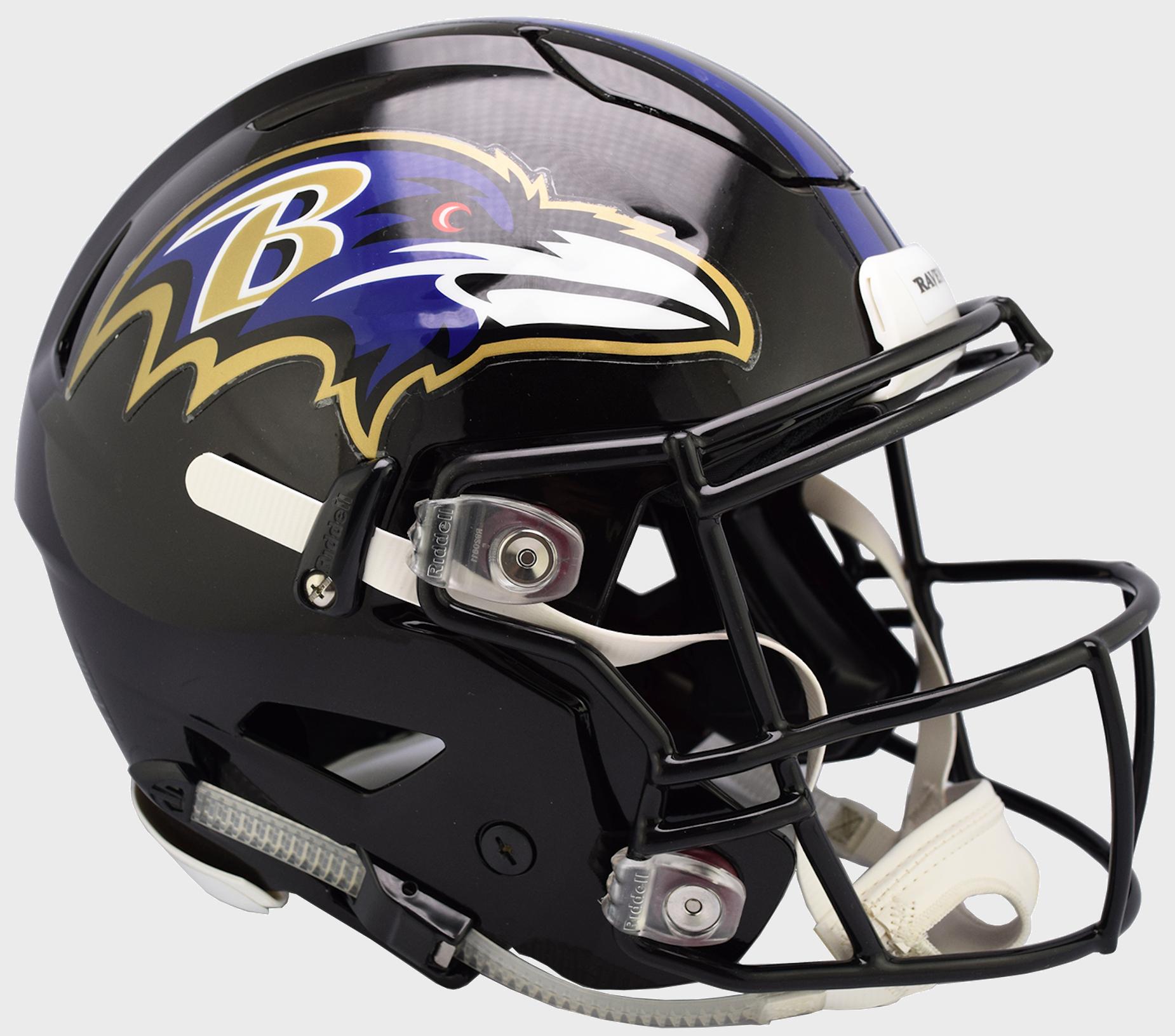 Baltimore Ravens SpeedFlex Football Helmet.