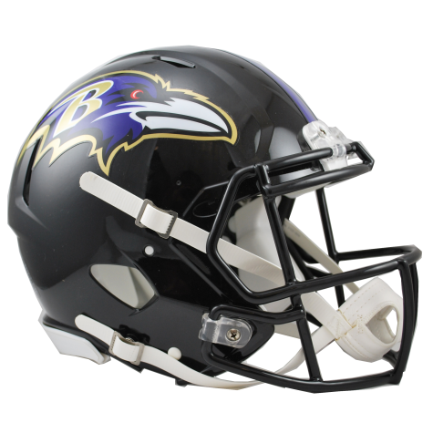 Baltimore Ravens Speed Authentic Helmet.