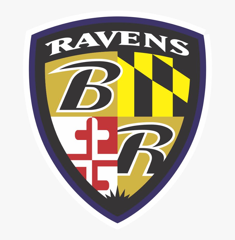 Baltimore Ravens Coat Of Arm Logo.