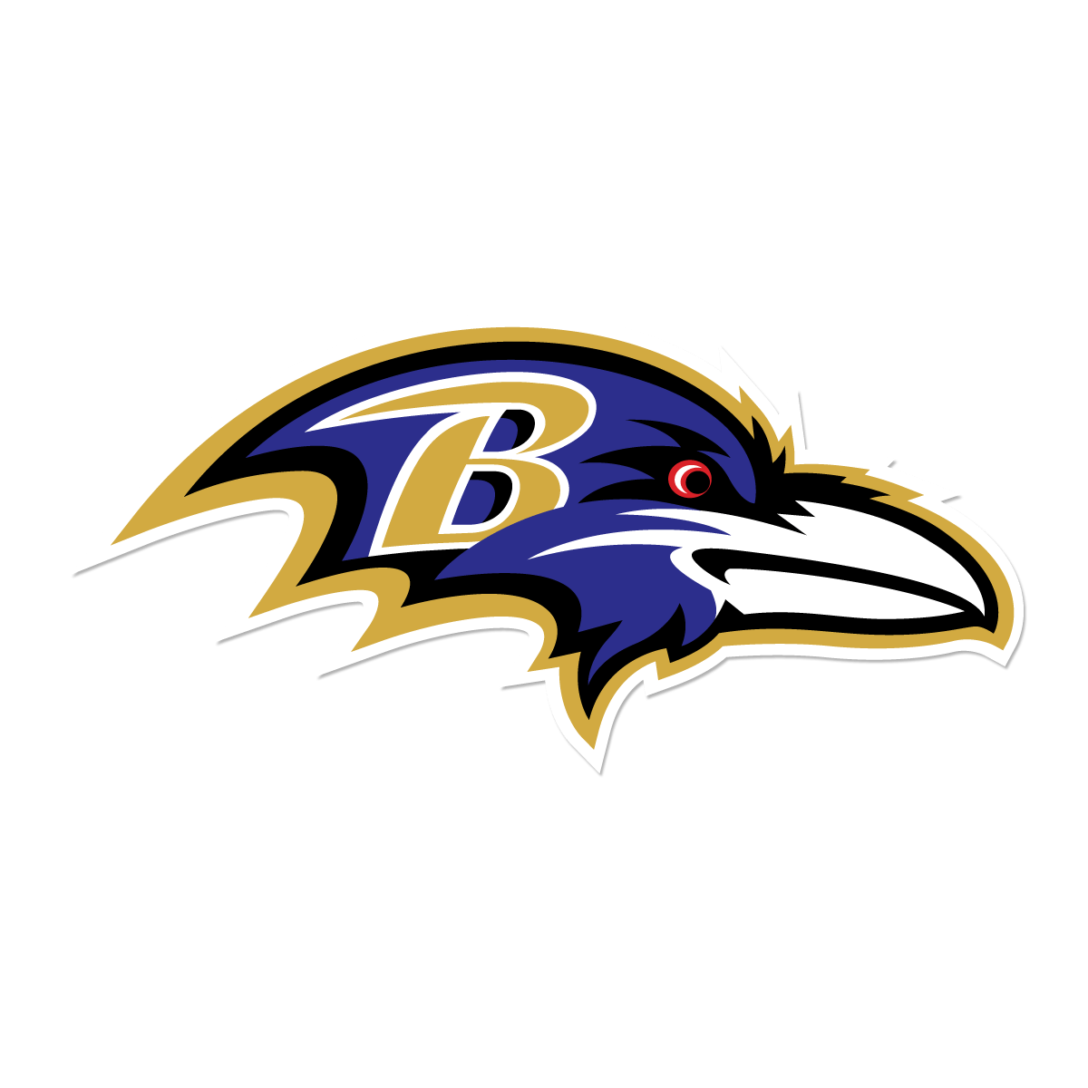 Baltimore Ravens Solo Logo transparent PNG.