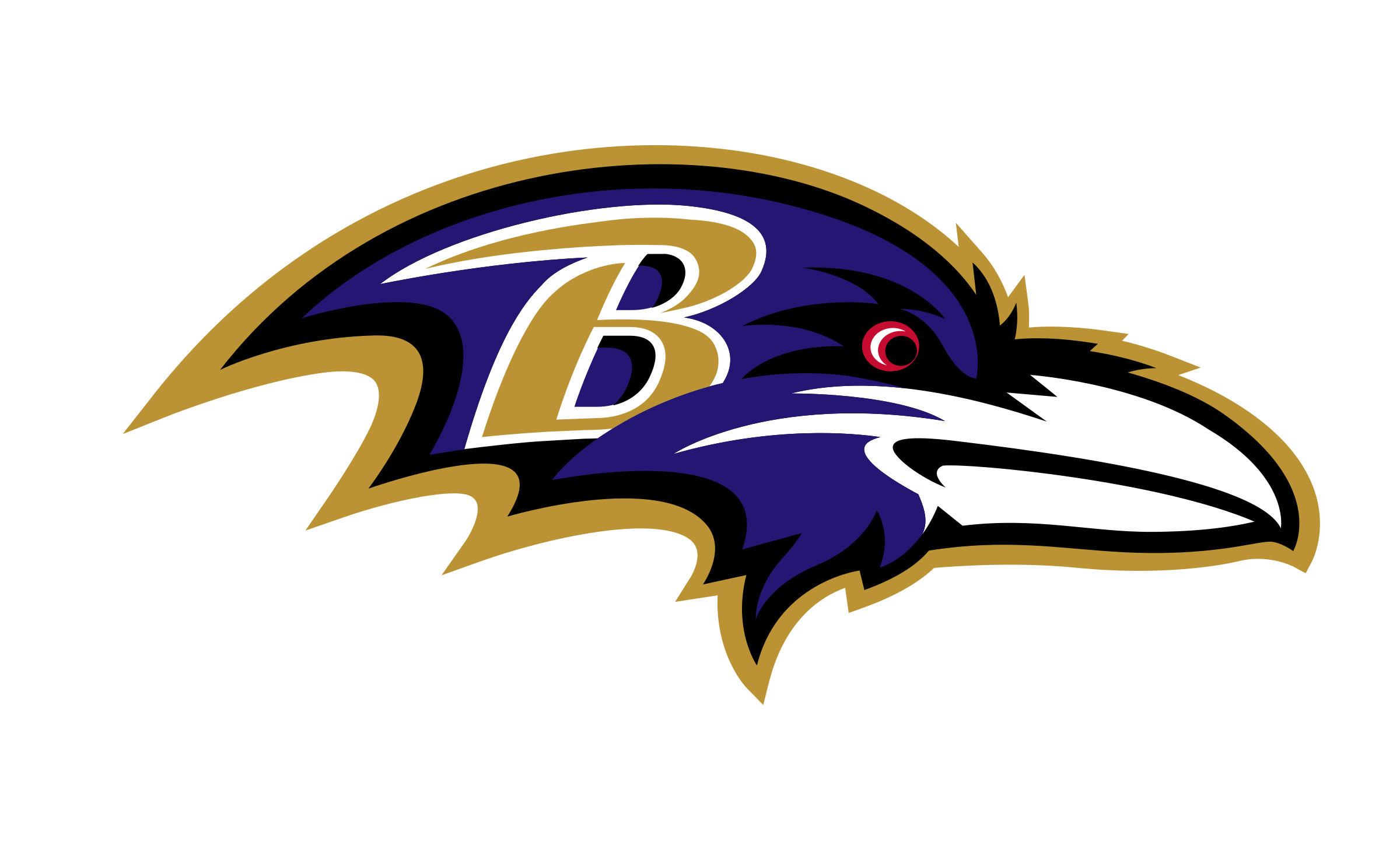 Baltimore Ravens Logo PNG Transparent & SVG Vector.